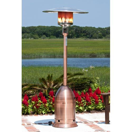 Copper Finish Deco Commercial Patio Heater Gas Patio Heater Patio Heater Propane Patio Heater