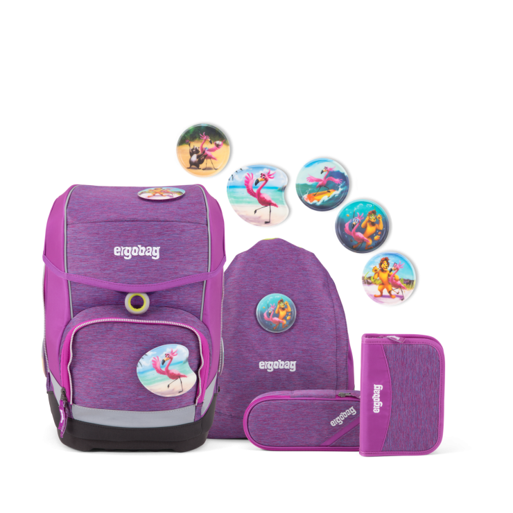 Mixmax Special Edition Ergobag Cubo Schulranzen Set Insel Hoppbar Der Flamingo Und Seine Freunde Beim Tauchen Schulranzen Set Schulranzen Ergobag Schultasche