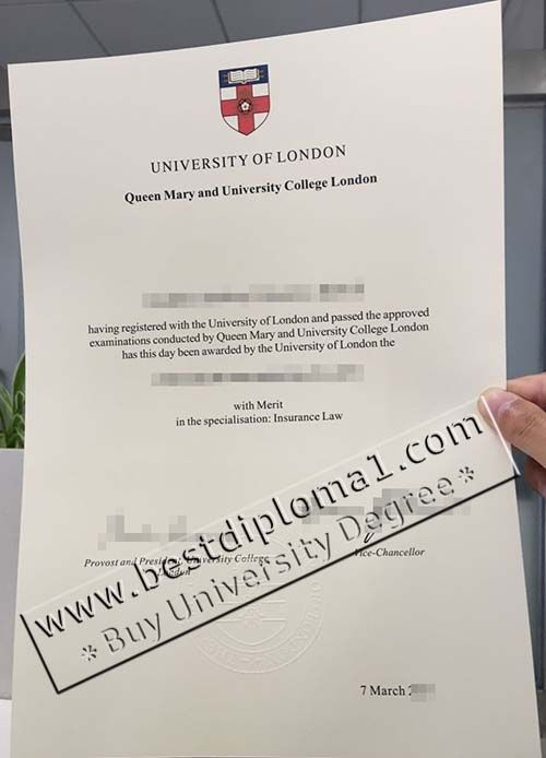 Queen Mary And University College London Fake Degree Buy Qmul
