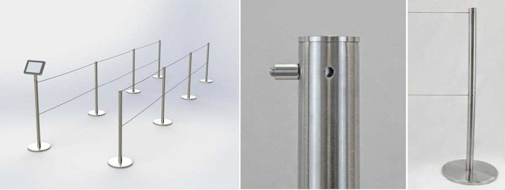 Retractable Barrier System #QCord #barrier #museum #gallery ...