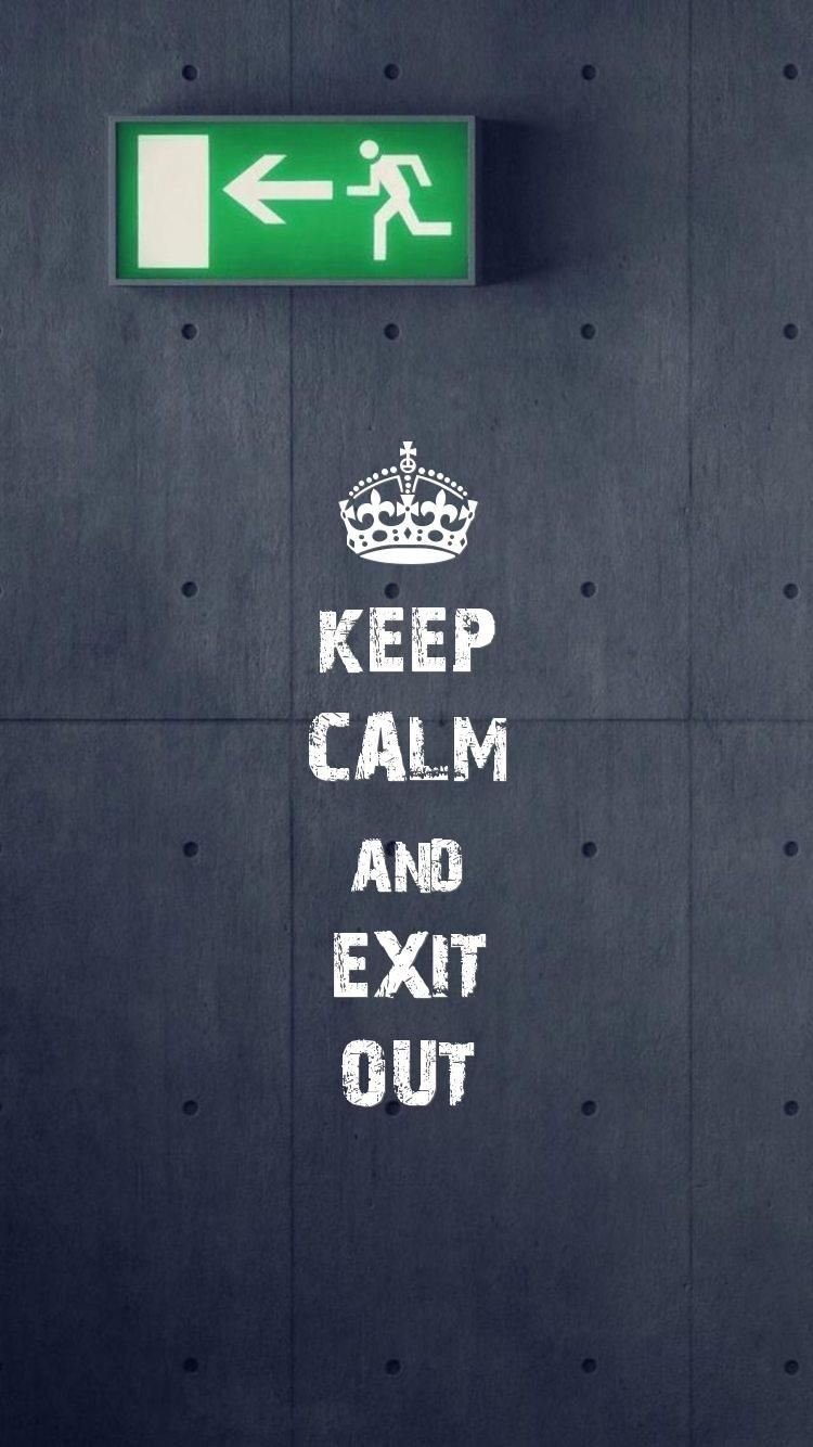 Iphone6wallpapercom Keep Calm Mobile Wallpaper Set As