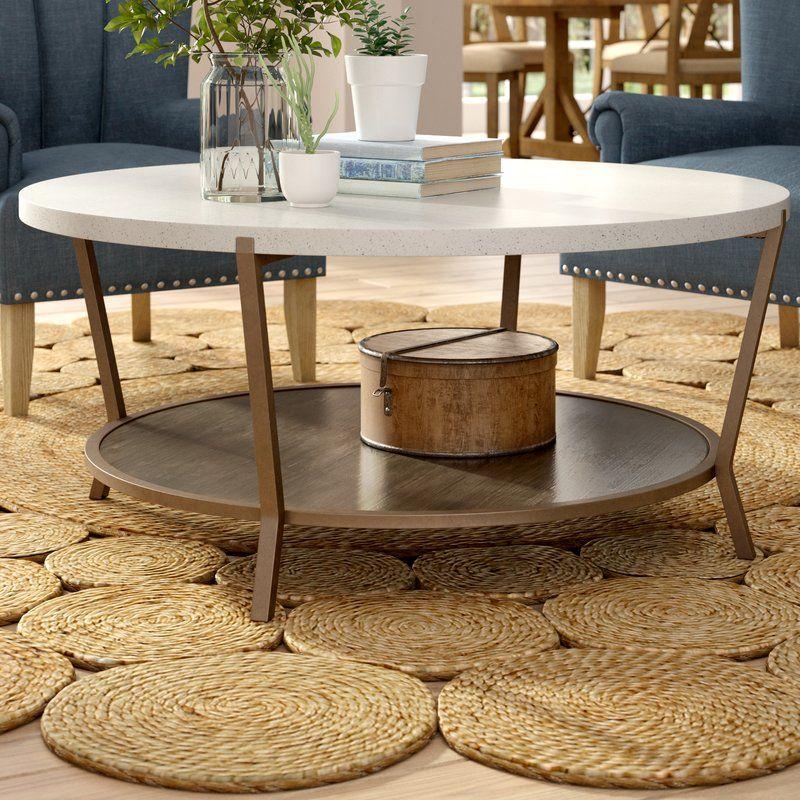 Taviers Coffee Table Reviews Joss Main Stone Coffee Table