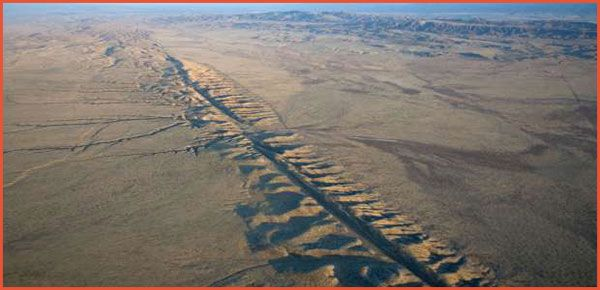 The San Andreas Fault In California Is A Well Known Example Of A