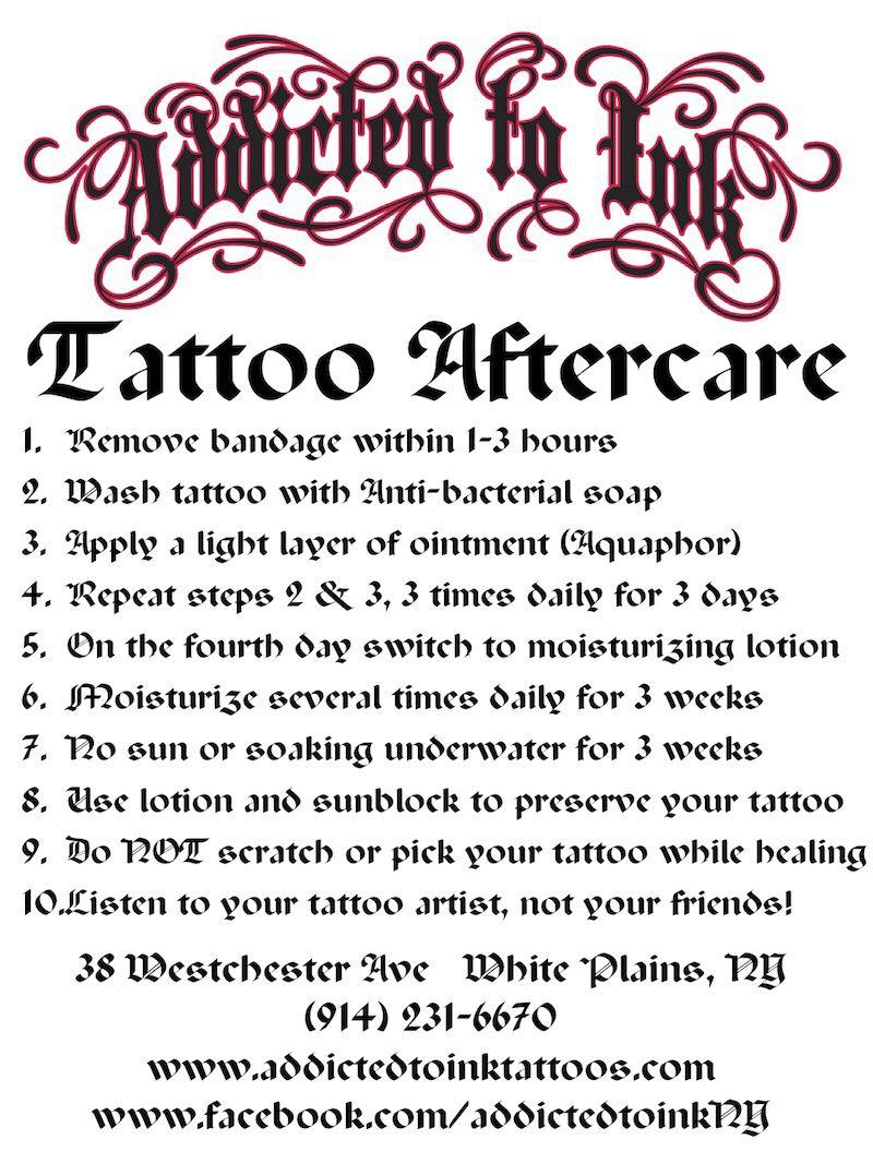45+ Best Dry healing tattoo instructions ideas