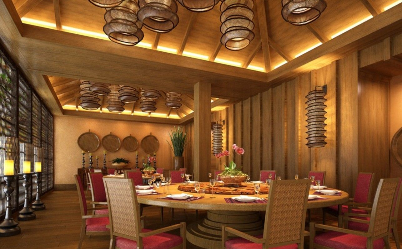 Beautiful Asian Restaurant Interior Design with Luxury Pretty Restaurant Wood Room Interior Lighting Design Used Traditional Furniture In F. & luxury chinese wood ceiling - Google Search | Jake Taylor James ... azcodes.com