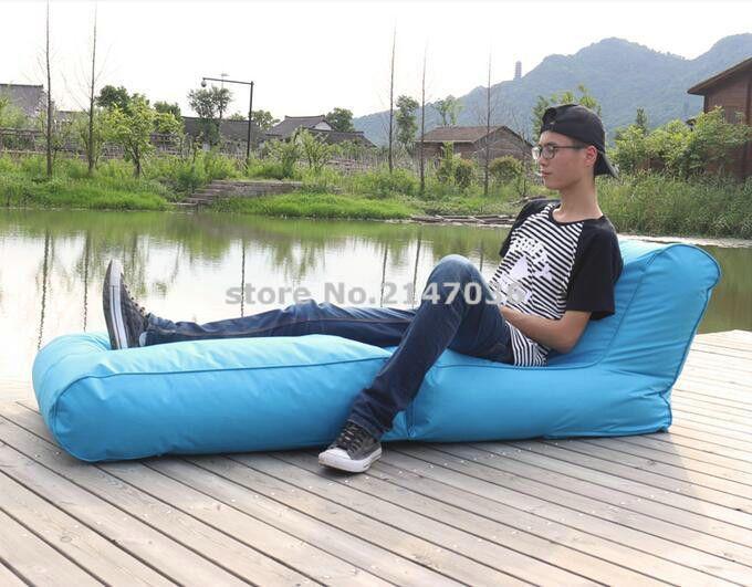 aqua blue bean bag chair cheap folding beanbag chair outdoor bean rh pinterest ch