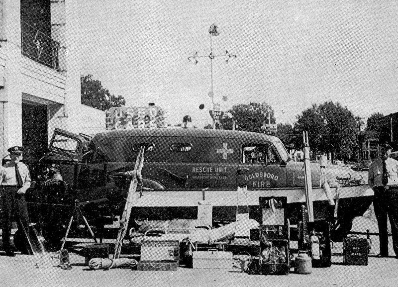 us Goldsboro,VA Rescue Squad 1955