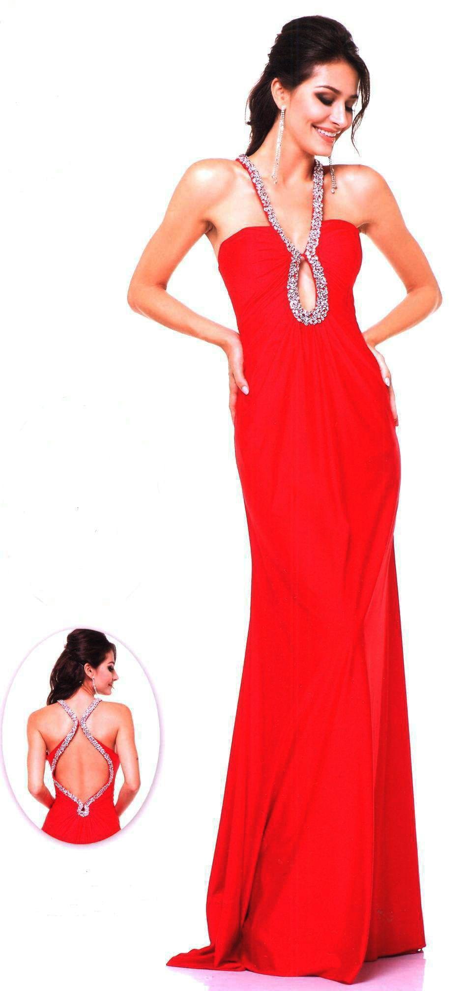 Prom dresses evening dresses under ucbrueucbruehalter beaded