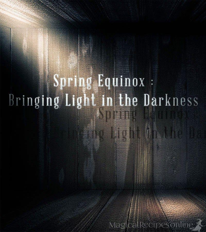 Spring Equinox Magic Spells Ostara Candle Bringing Light In The Darkness