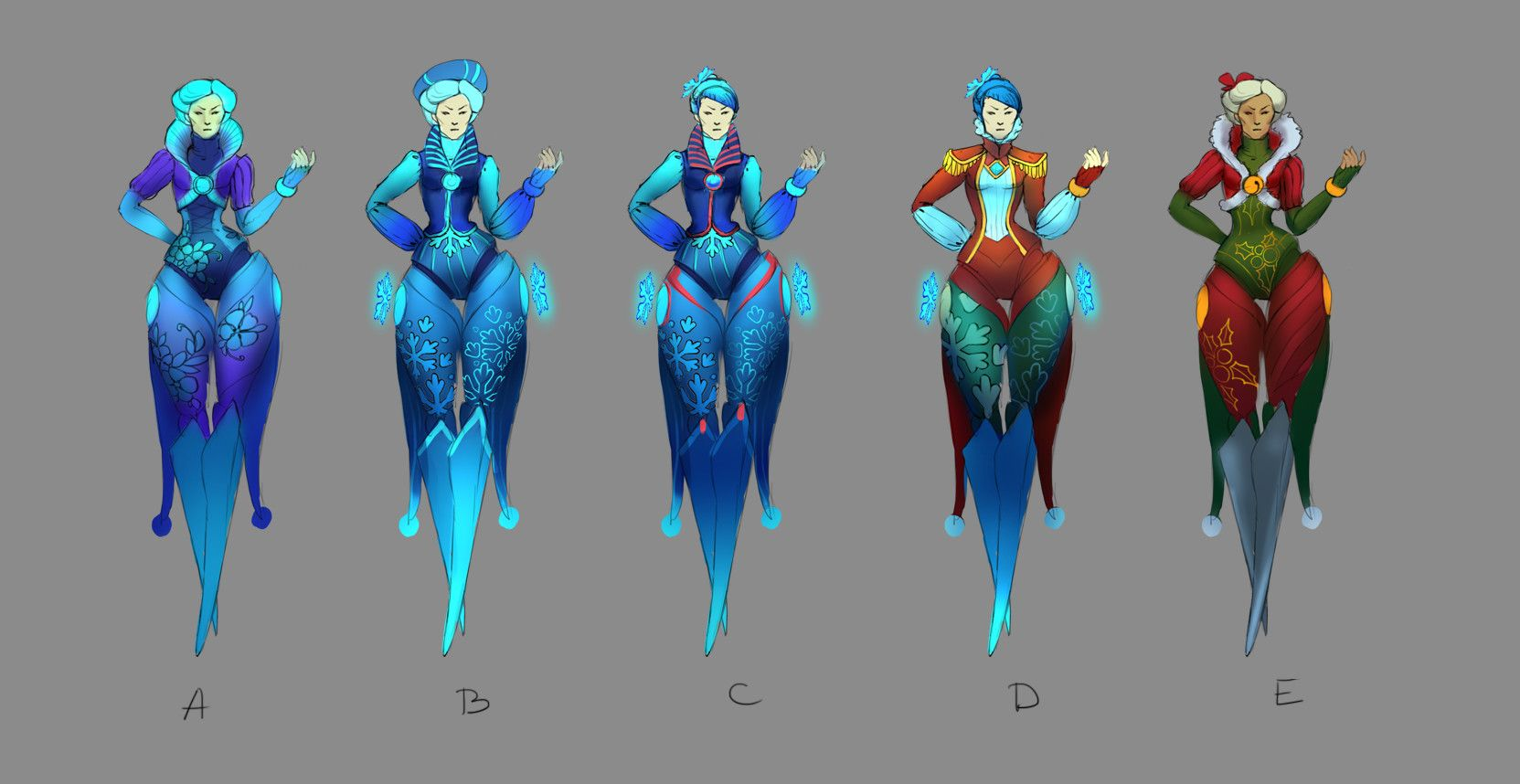 Winter Camille   League of Legends Skin Concept by ...