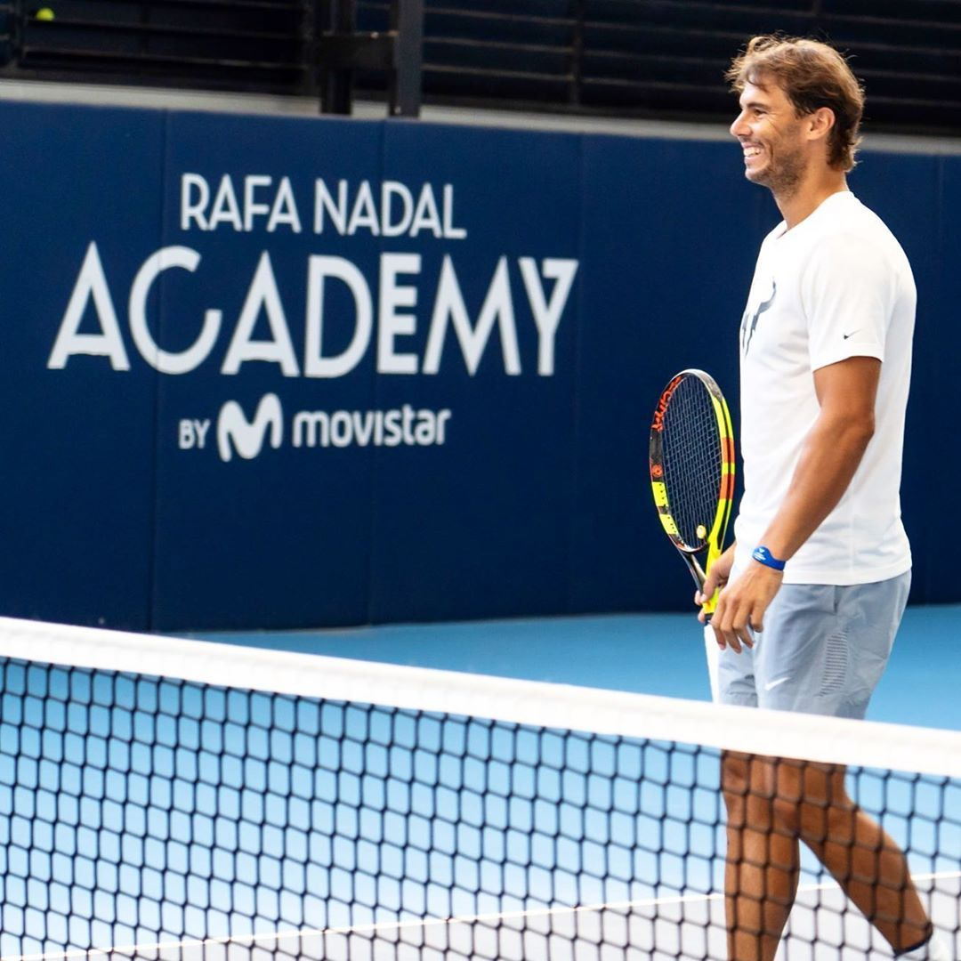Rafa Nadal Academy By Movistar On Instagram Today Is The Happyday Feliz Diamundialdelaalegria Siempre Con Una Rafa Nadal Rafael Nadal Tennis Players