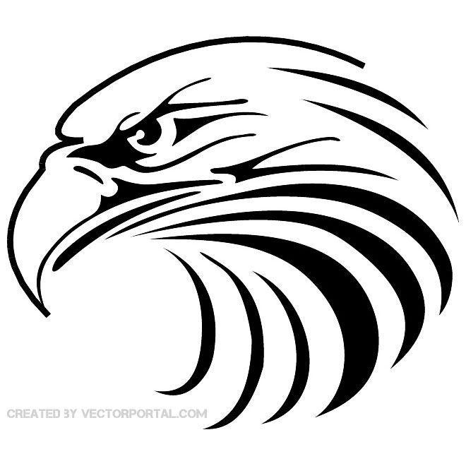 EAGLEHEADVECTOR2eps  eagle  Pinterest  Eagle Cricut and