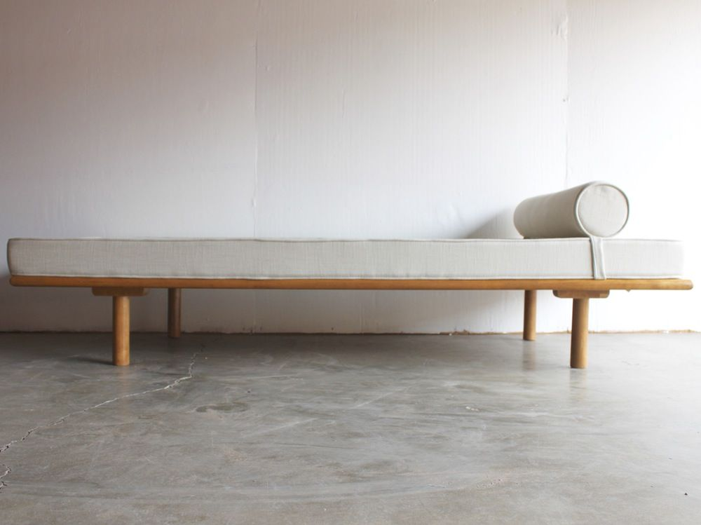 Image Of Mid Century Bauhaus Daybed Chaise Lounge In The Style Of