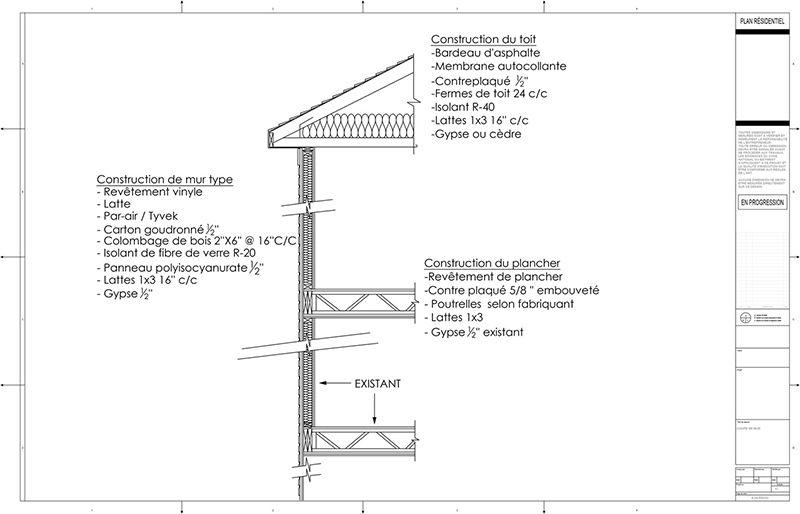 Exemple de plans d\u0027agrandissement de maison (ajout d\u0027étage) (page 7