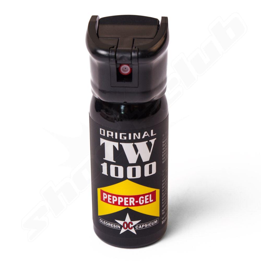 TW1000 Pfeffer-Gel Spray mit 50ml Inhalt - Reichweite bis 4m    - die klebrige Masse haftet sehr gut am Angreifer -