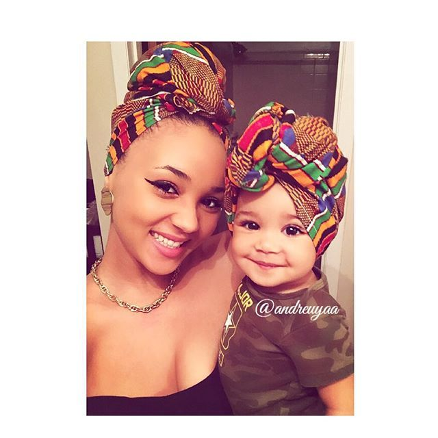 Someone tagged me earlier under that picture of a mom & her daughter in african outfits... Had to try it out real quick with my african princess. Representing Ivory Coast ❣🇨🇮🇨🇮🇨🇮🇨🇮🇨🇮