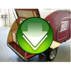 Big Woody Teardrop Camper Trailer Plans Pdf