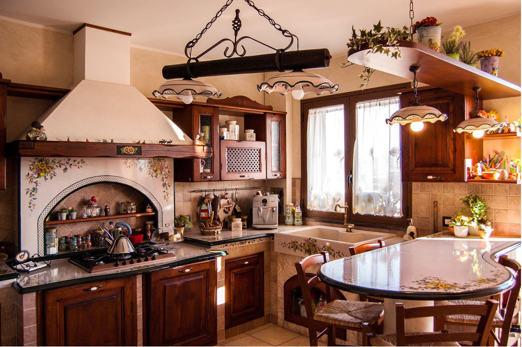 Fabbrica cucina in muratura componibile smontabile con for Fabbrica cucine