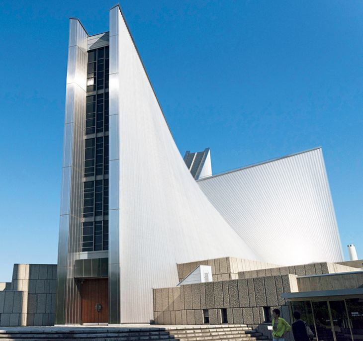 013 St.Mary's Cathedral, Tokyo (1964), by Kenzo Tange