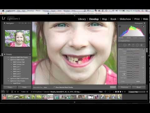 No Toothpaste Needed How To Whiten Teeth In Adobe Lightroom