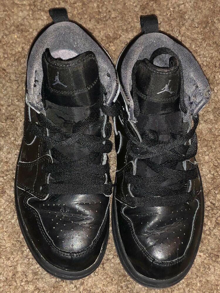 new styles 86180 27c15 Air Jordan 1 Boys 1.5Y (Black) #fashion #clothing #shoes ...