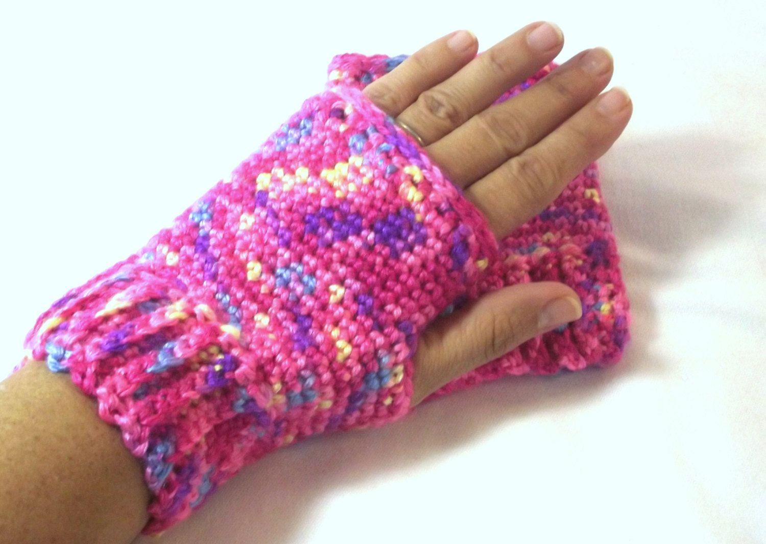 Driving gloves for arthritic hands - Hand Wrist Warmer Driving Glove Fingerless Gloves Handmade Mitten Fingerless Mitten Gift For Her Pink Glove Mitten