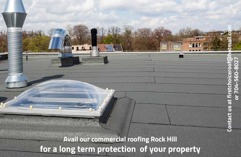 First Choice Roofing provides the finest roofing services
