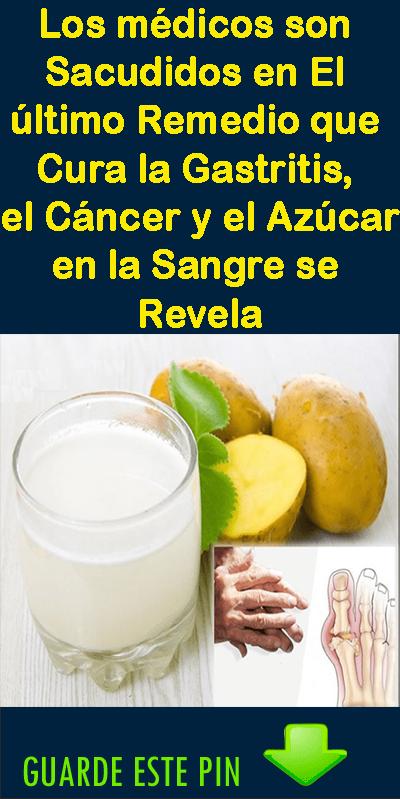 Este Es El Remedio Que Cura La Gastritis El Cáncer Y El Azúcar En La Sangre Gastric Problem Health Fruit