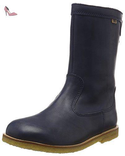 Bisgaard TEX boot, Bottes courtes avec doublure chaude mixte enfant - Marron  - Braun (