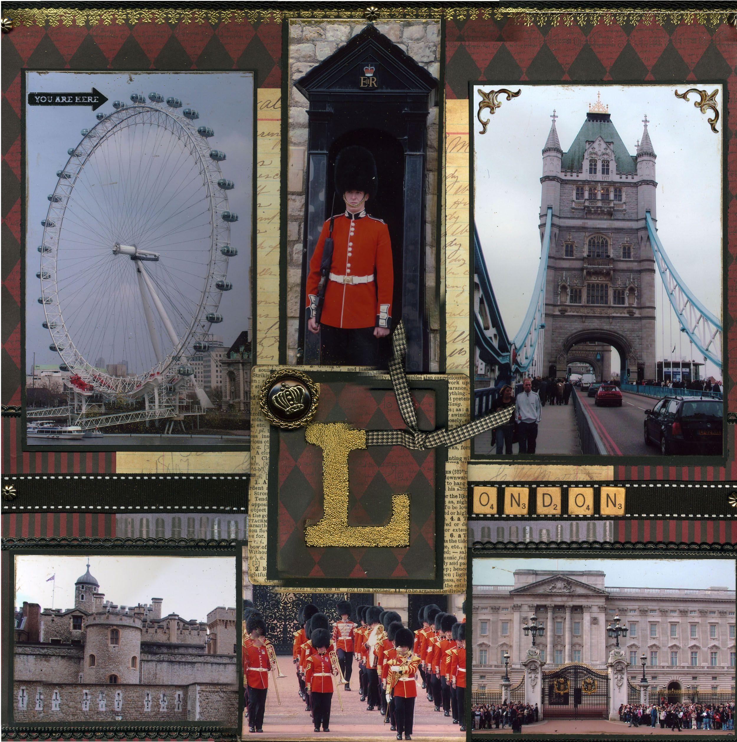 Europe scrapbook ideas - London Scrapbook Com
