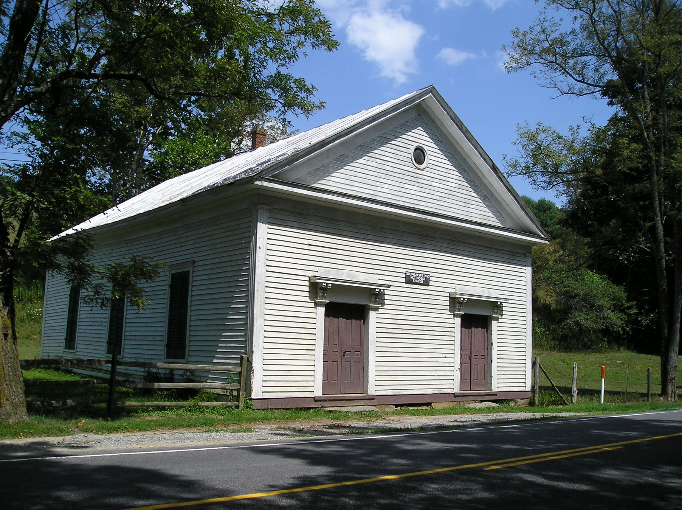Sulphur springs methodist church with images home