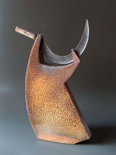 Aage BIRCK (Danish: 1941) - Sculpture with sichel