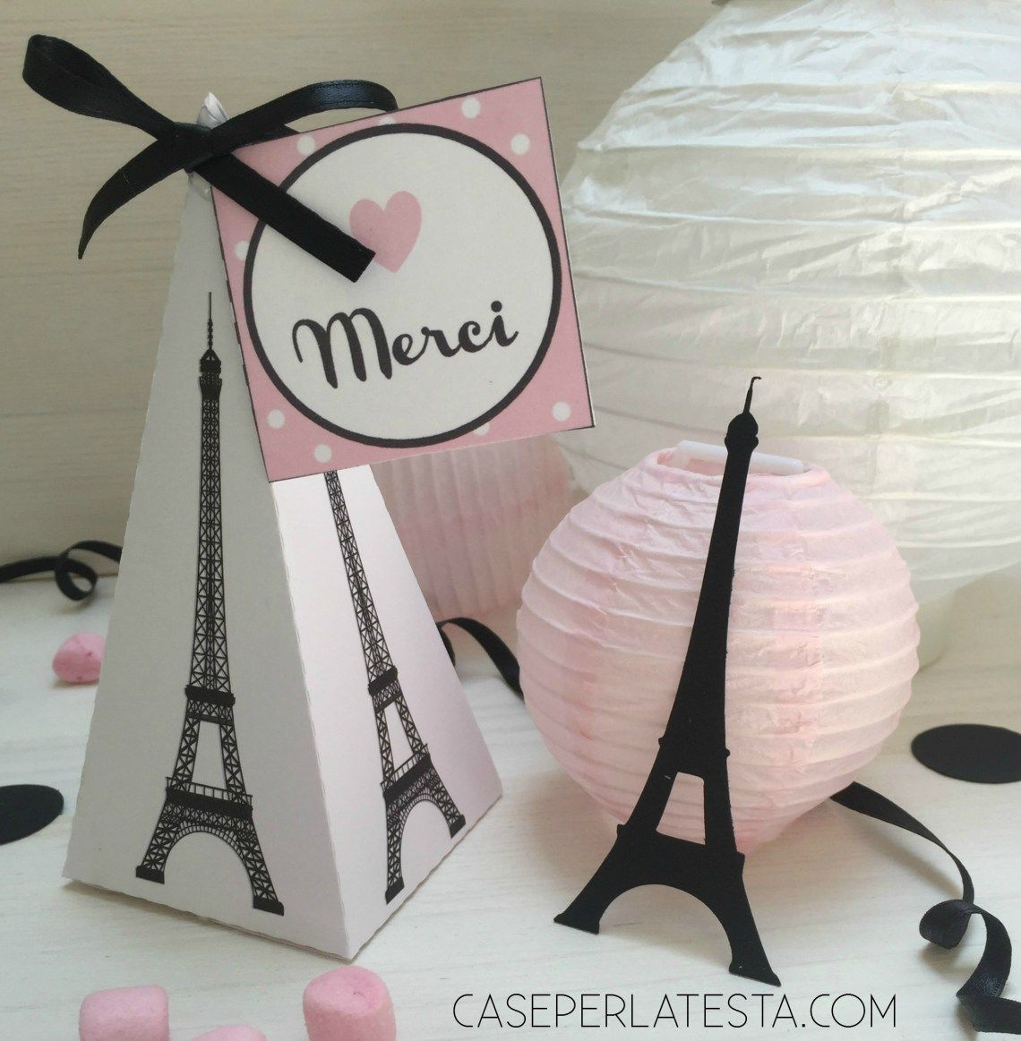Paris themed party kit free download