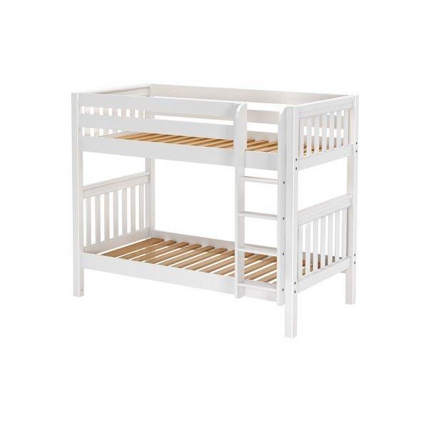 GETIT WS : Medium High Bunk W/ Straight Ladder : Twin