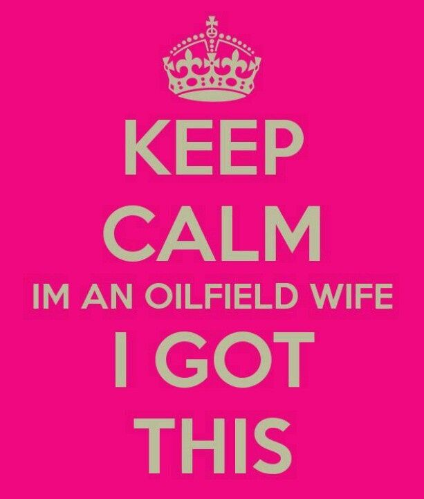 Are you a Texas oilfield wife?!  https://www.facebook.com/groups/Texasoilfieldwives/