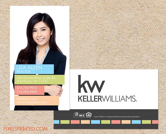 Realtor Business Cards Keller Williams Realtor Business Cards Real