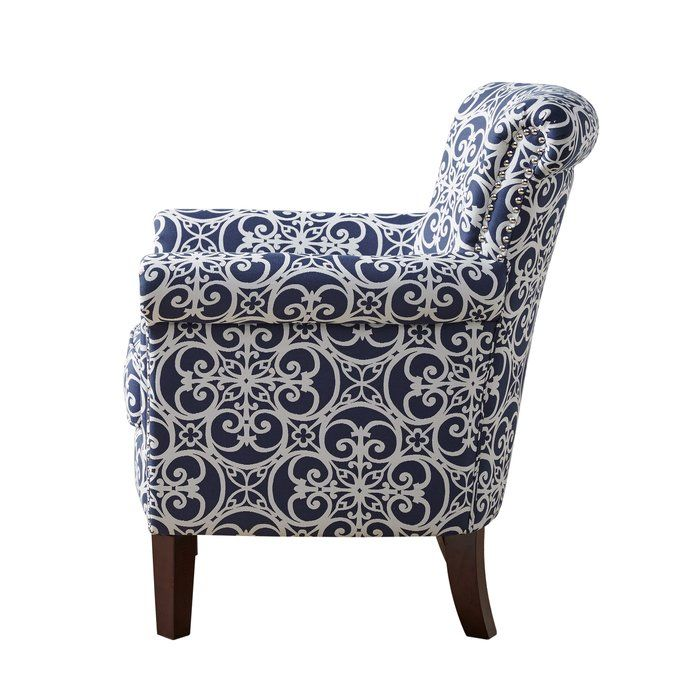 Olson Armchair For The Home Accent Chairs Chair Blue
