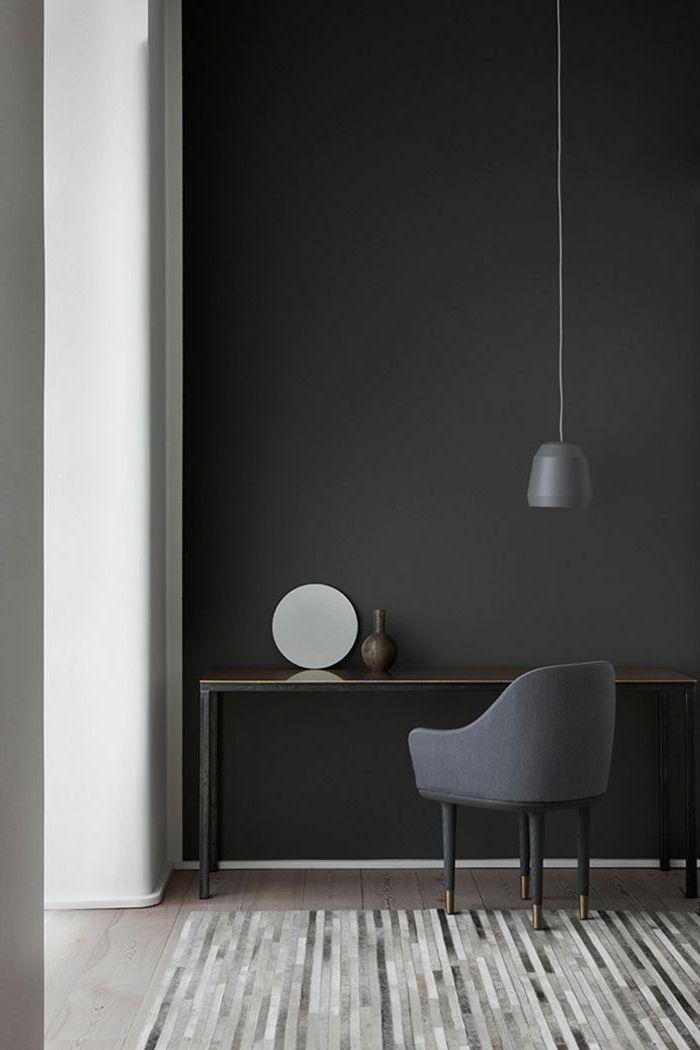70 w nde streichen ideen in dunklen schattierungen w nde streichen ideen w nde streichen und. Black Bedroom Furniture Sets. Home Design Ideas