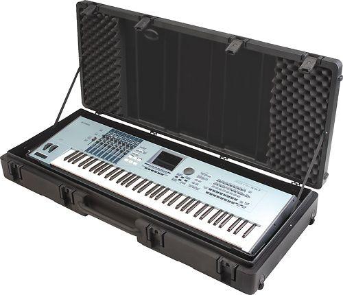 SKB - Case for Most 76-Key Keyboards - Black, R5220W