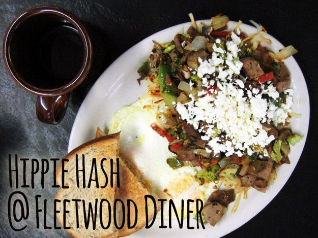 Hippie Hash @ Fleetwood Diner | 23 Reasons Ann Arbor Is The Best Food Town In All The Land