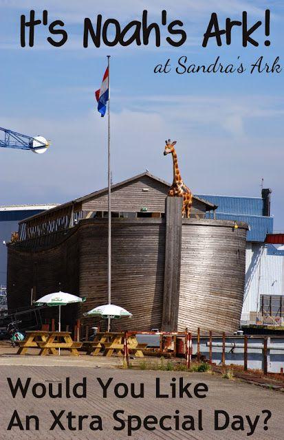 Sandra's Ark: A Real Noah's Ark - It's How Big?