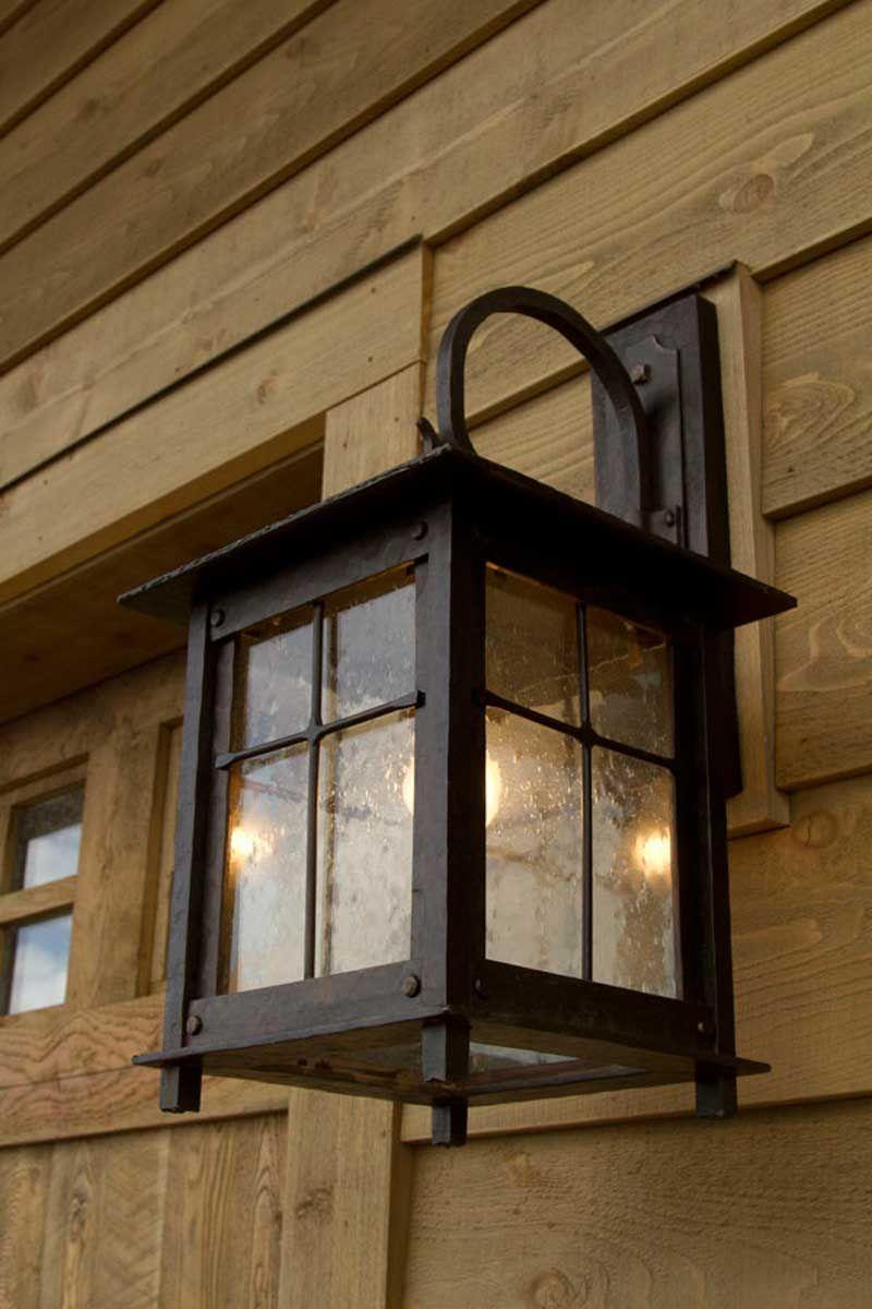 Arts Crafts Genre Lighting Rustic Light Fixtures Exterior Light Fixtures Iron Lighting