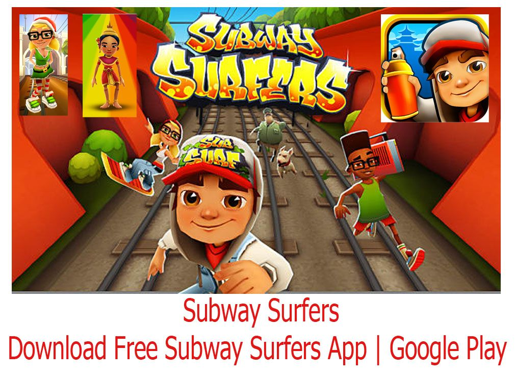 To download free subway surfers app click on this link