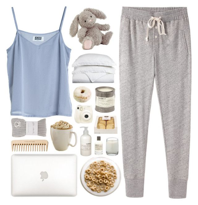 SLEEPY BUNNY by bohaemian on Polyvore featuring polyvore, fashion, style, Steven Alan, River Island, Le Labo, Luxor Treasures, Jellycat, MTWTFSS Weekday, Polaroid and The Body Shop