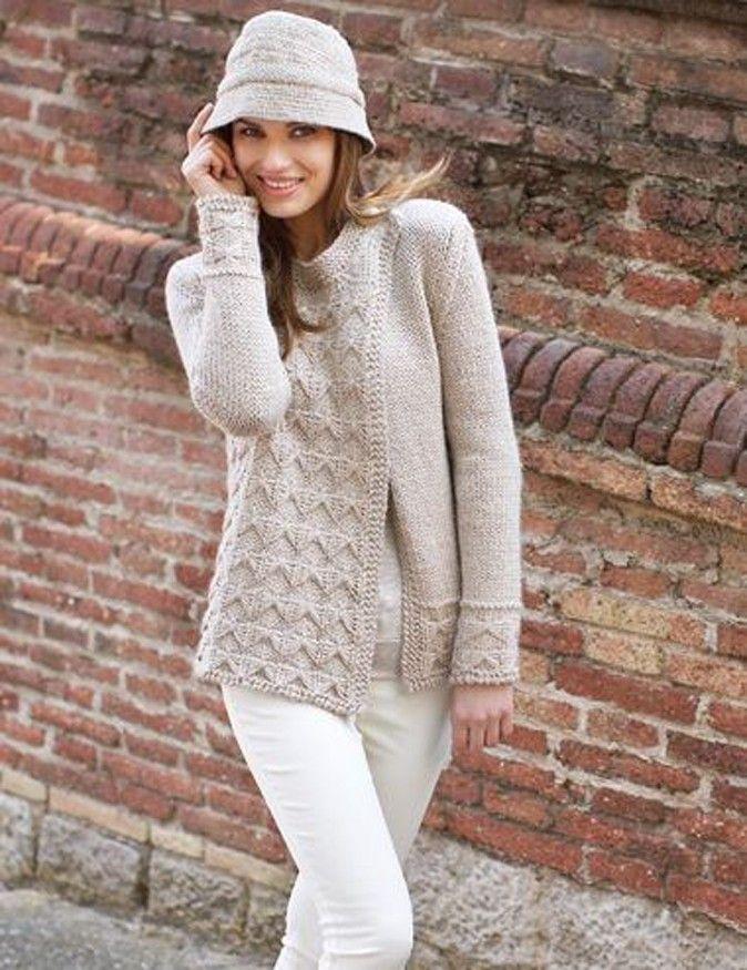 Katia Womens Jacket Cardigans Chunky Knitting Patterns Google