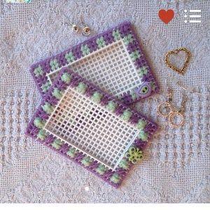 "Plastic Canvas Pattern: Christmas Stockings — ""Diamonds"" (4…"