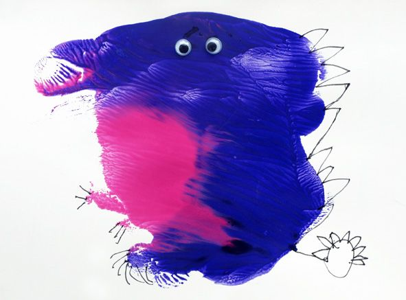 Splat Monsters are really fun to create with kids - just feed their imagination!