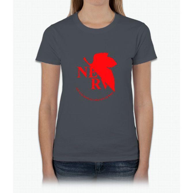 Neon Genesis Evangelion - NERV Logo Womens T-Shirt