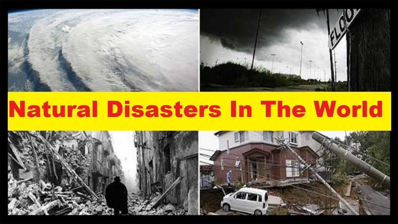 Top 10 Natural Disasters In The World Worst Natural Disasters In History Natural Disasters World Disasters