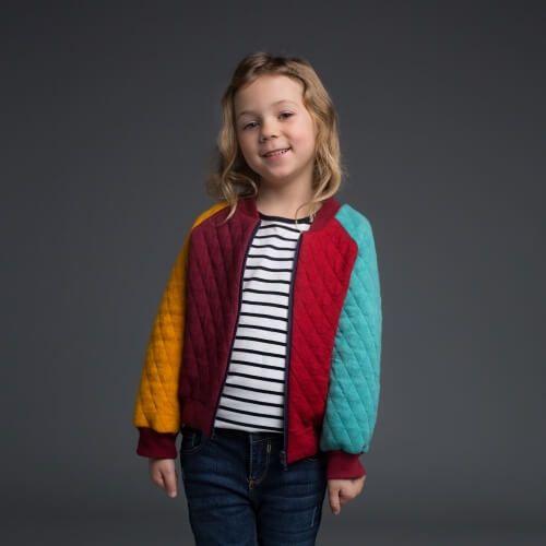 Bomberjacke für Kinder | Sewing - Baby and Kids | Pinterest ...